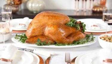 5-herb butter roast turkey